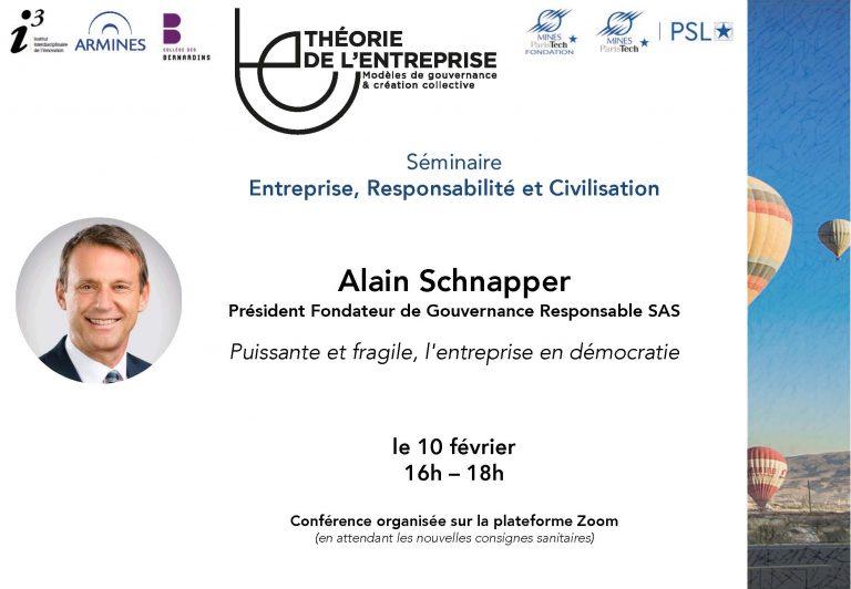 Séminaire ERC Alain Schnapper