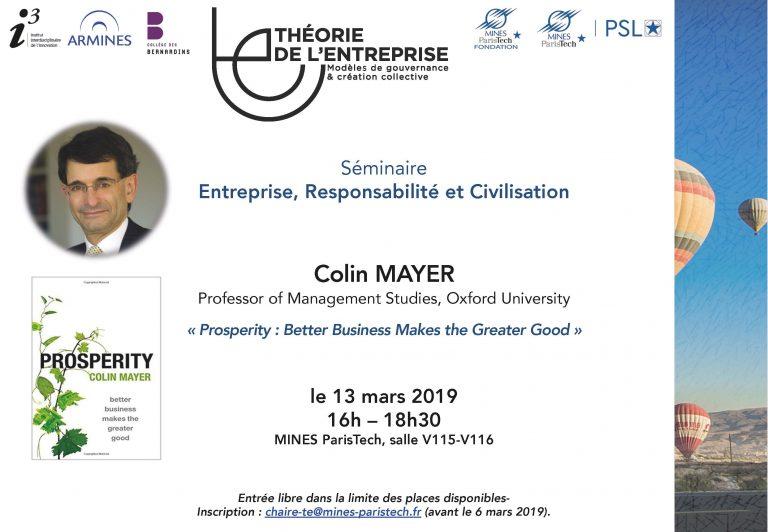 Séminaire ERC COlin Mayer