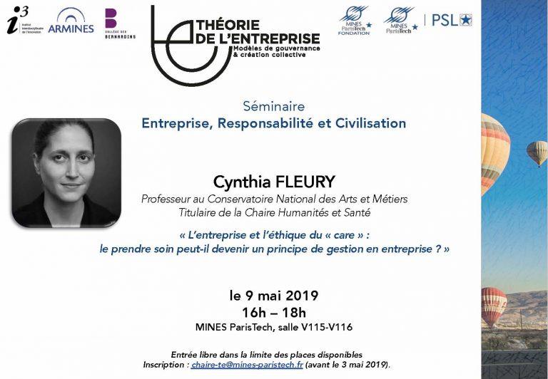 Séminaire ERC - Cynthia Fleury