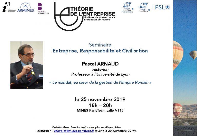 Séminaire ERC P. Arnaud
